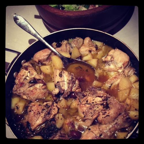 Learn to cook Italian Pollo Godereccio