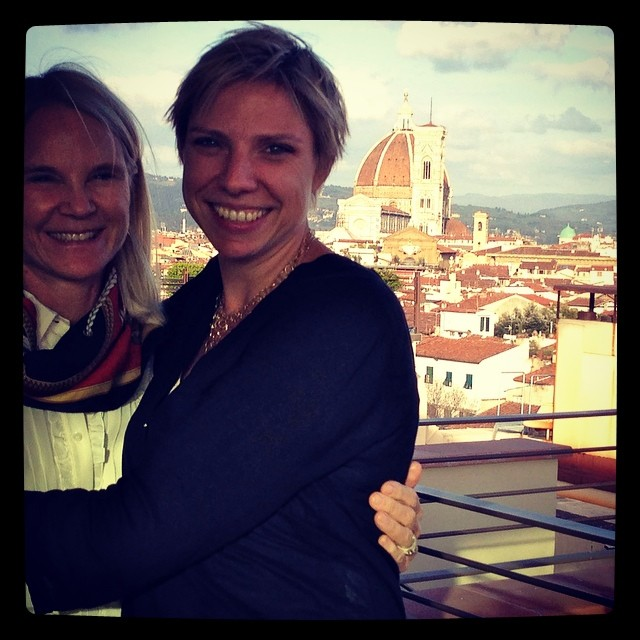 Mothers and daughters on Tour in Florence