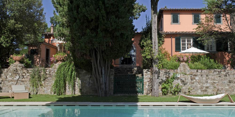 VillaLe Fontanine, Florence
