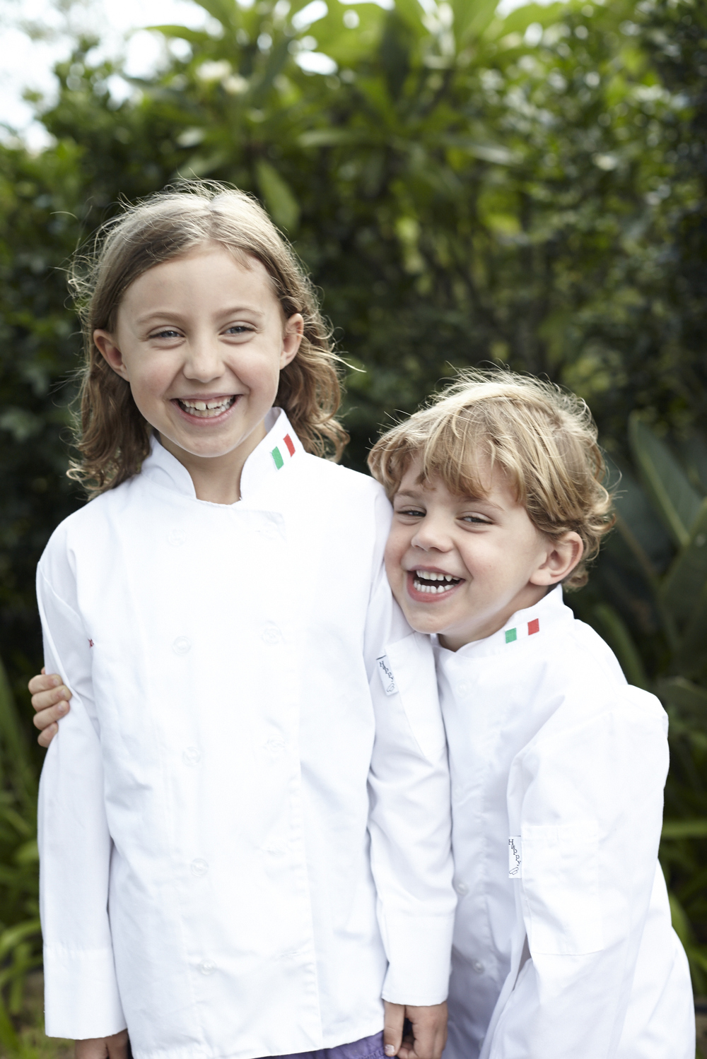 My two little chefs Felix and Coco. I love this picture by Julie Adams