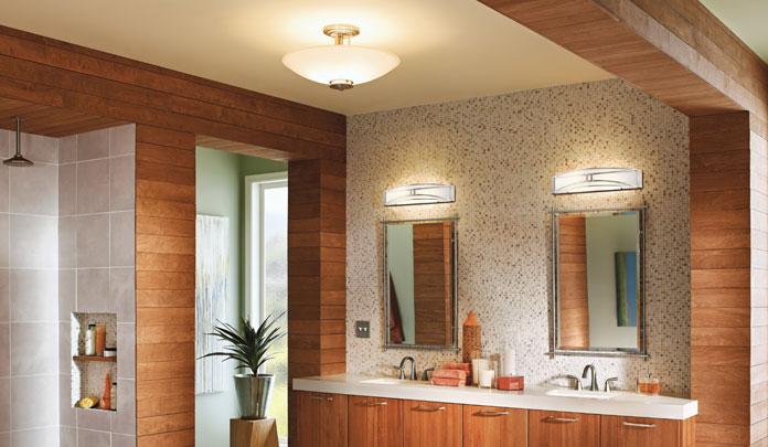 Bath Light  Bathroom Light Fixtures Gallery  Kichler