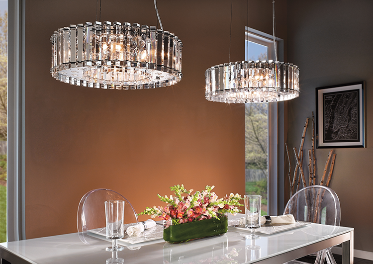 kichler dining room gallery carrington lighting