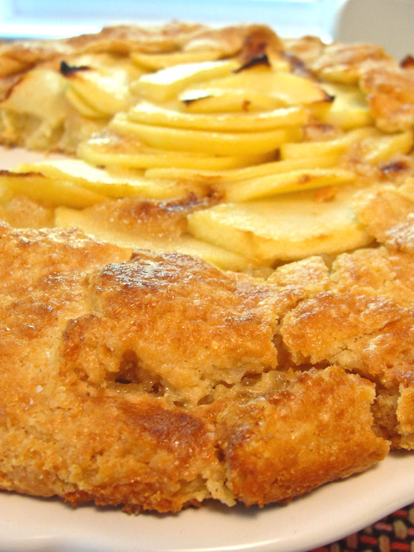 Quick Apple Galette — SweetBites