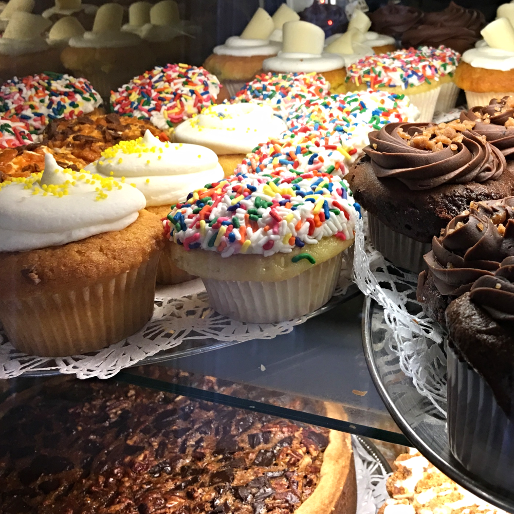 Switch it up, Cupcakes, Pies, Cheesecakes. People like choices.