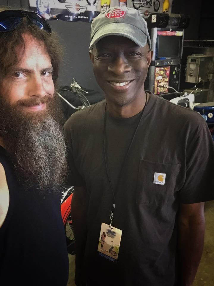 Ryan Chrys with Keb' Mo'.