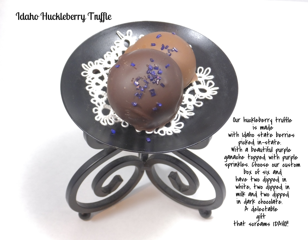 Huckleberry Truffle