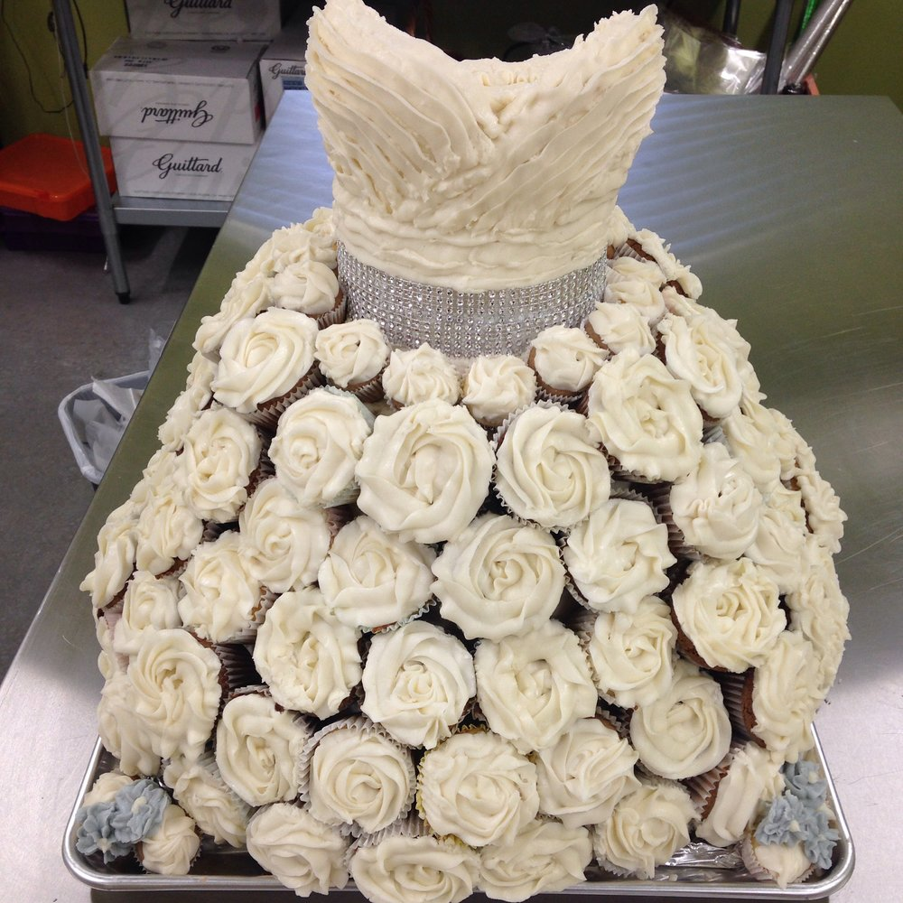 Cupcake Wedding Dress