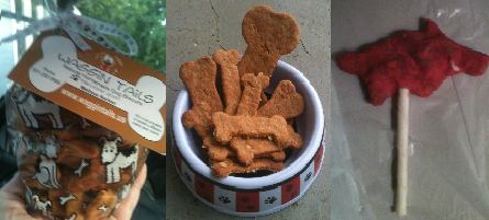Interested in some yummy, homemade, natural treats that you and your pups can ALL enjoy?! Visit our friends at Waggin Tails and try some today!http://waggintailsnaturaldogbiscuits.com/