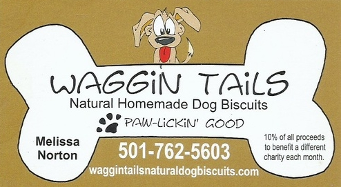 10% of Waggin' Tails sales go to the Frankie Foundation