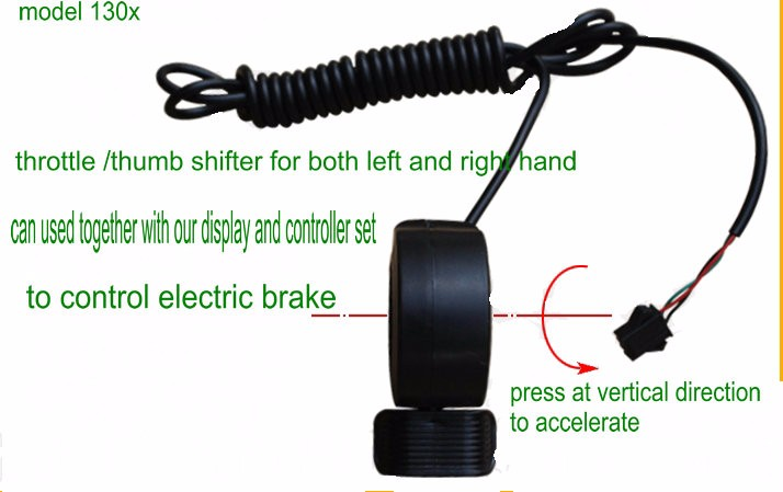 Motorcycle Thumb Throttle Universal For Right Or Left Hand