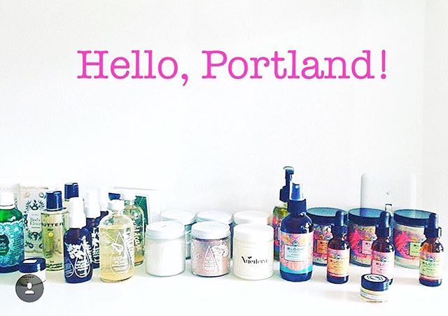 SHELFIE STRONG // Thrilled to announce that Bloom is now stocked at Seven Sisters in Portland (@sevensisterspdx) via @bergamotbeauty! In the area? Stop in and smell the rosewater.💐
