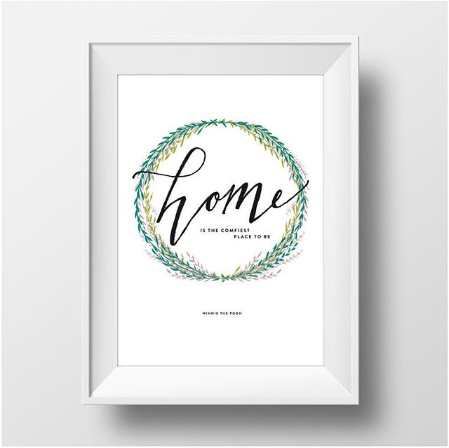 So happy to know @meldhoo and have loved working with her on some fabulous @hiptohome print for the past few months! Go get yours :) #graphicdesign #posterdesign #printables #letterpressprint #hiptohome