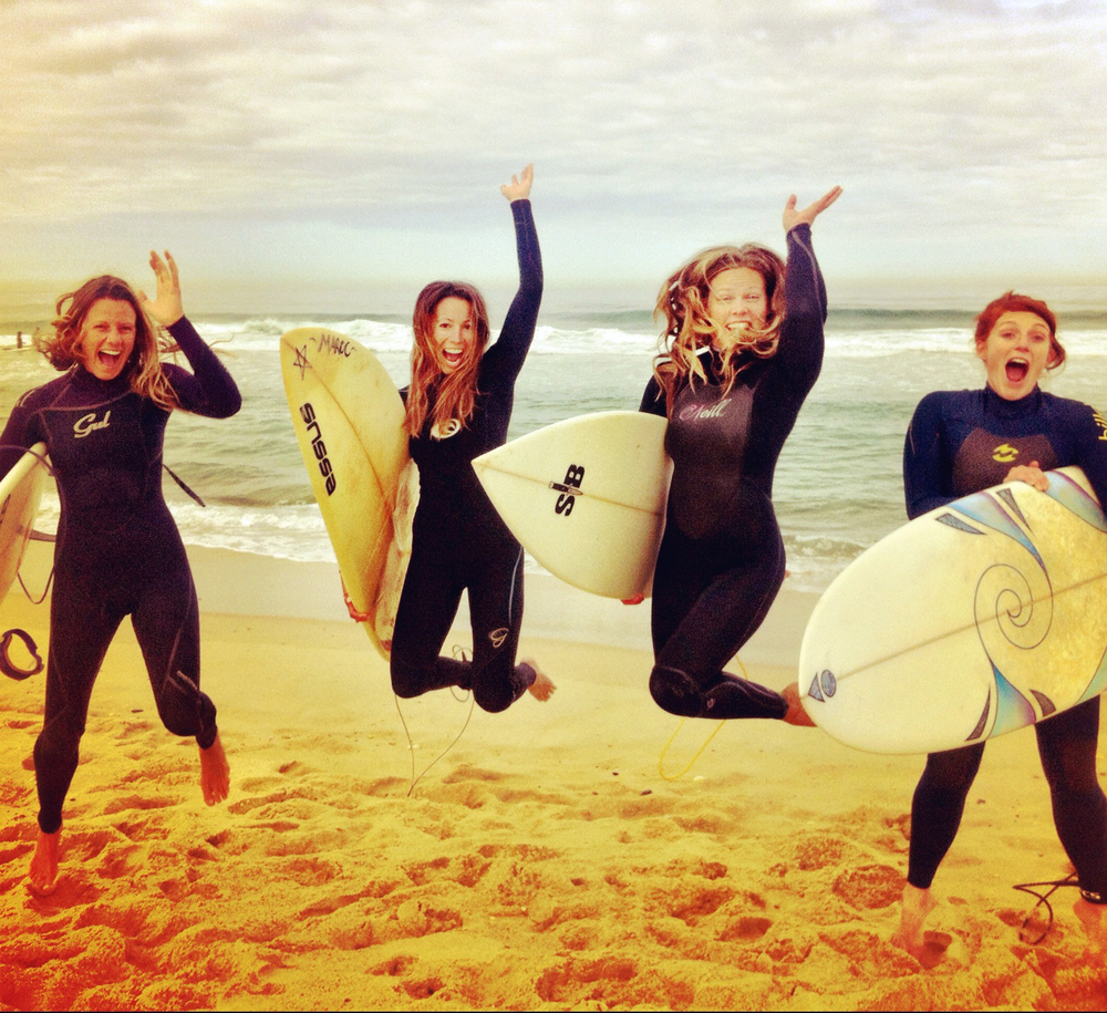 Lets go surfing!