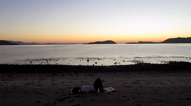Novembers Yoga Video. Sea of Cortez, Baja Mexico