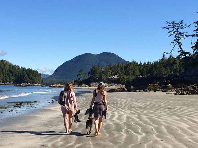 Low tide, new moon, (almost) solstice shenanigans with @kaaate_p #TonquintoMackenzie #crotchdeepdoable #yourtofino • Thanks for the pic @cathylouisethicke