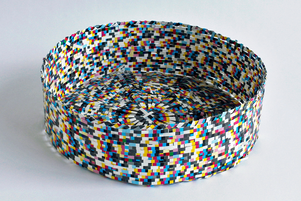 Untitled (Round Basket)