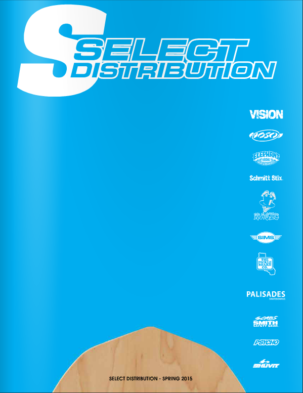 Select Distribution Catalog - Spring 2015
