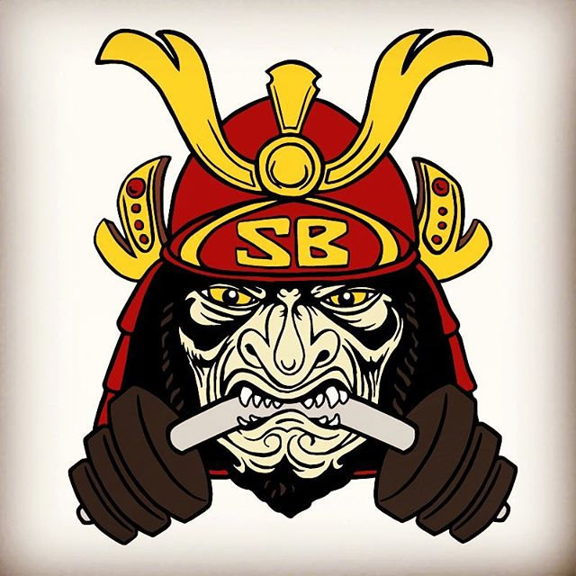 New logo I just completed for @samuraibarbellpowerlifting  #graphic #logo #ironmonkeycreative