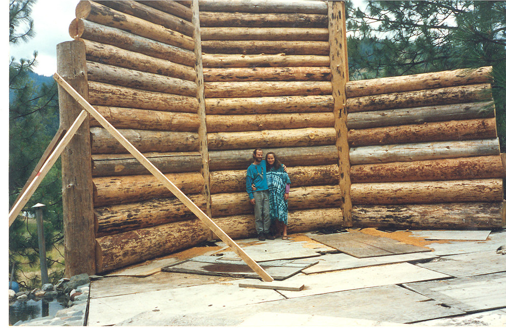 Building our house 1993