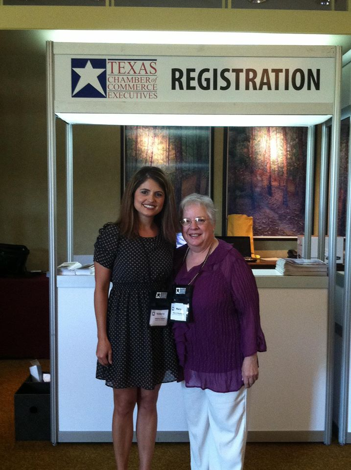Attendee at Texas Chamber of Commerce Executives