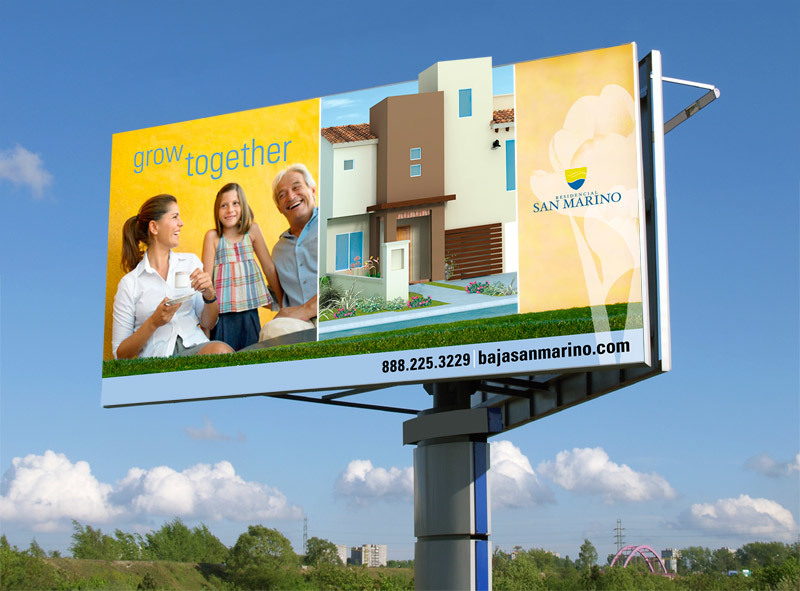 Salerno Condos billboard design