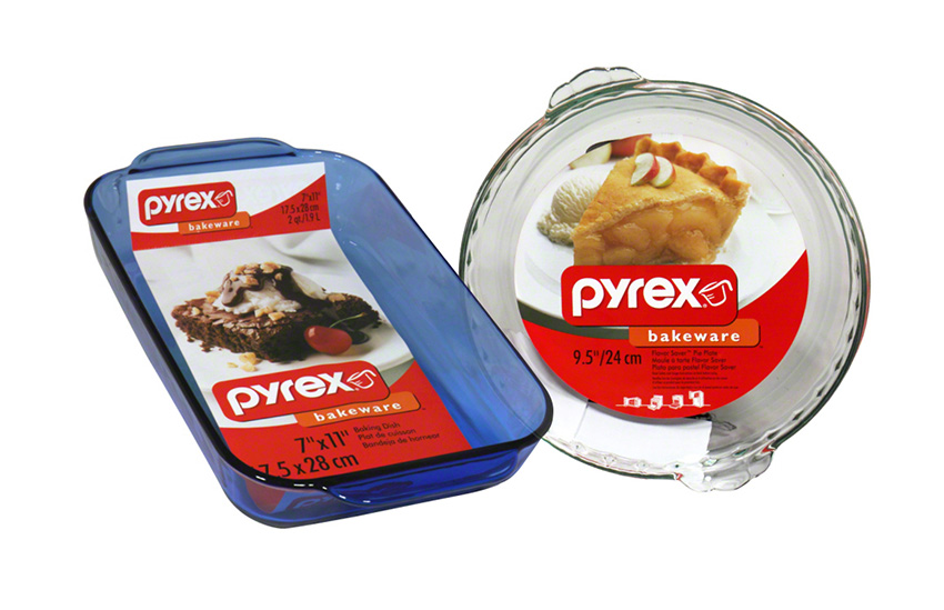 Pyrex label design