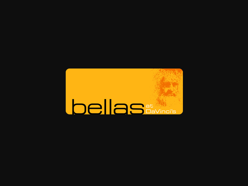 Ballas restaurant and bar logo design.