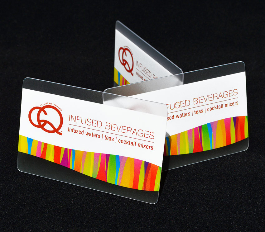 California Quivers business card design