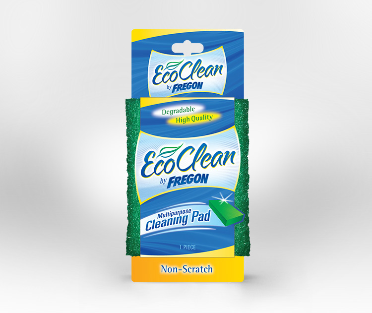 Eco Clean by Fregon packaging wrap design