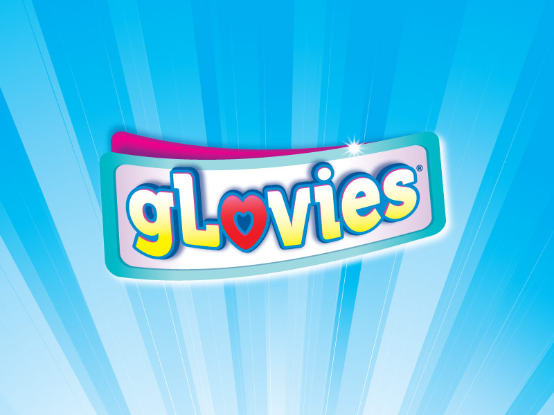 Glovies children's logo design