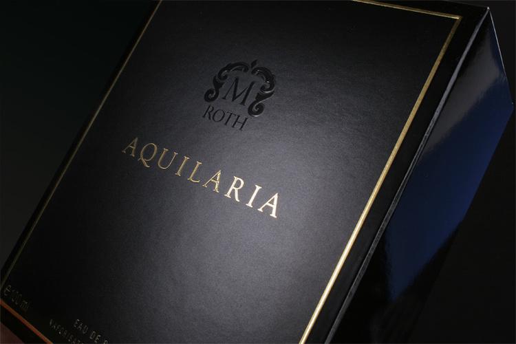 Copy of Copy of Aquilaria modern perfume bottle design