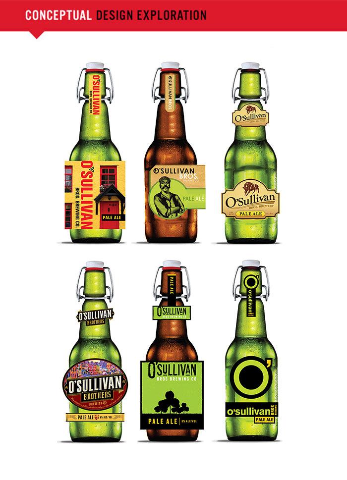 O'Sullivan's Brewing conceptual designs