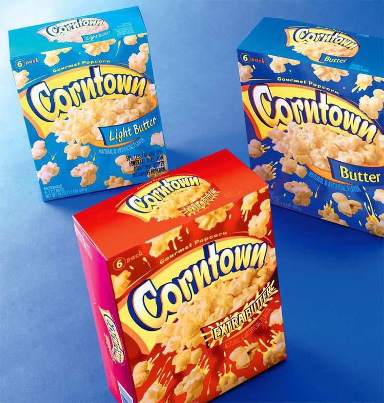 Copy of Aldi Corntown package design