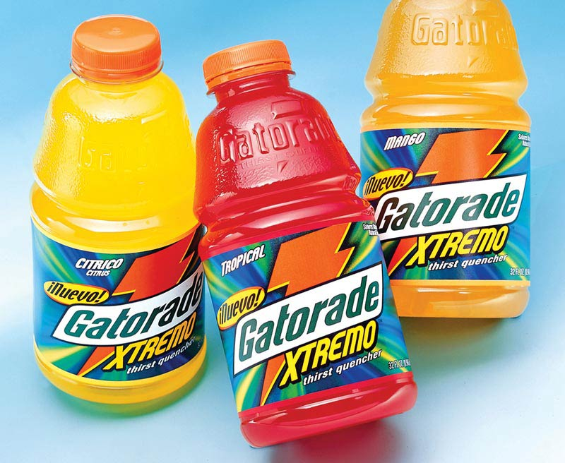 Gatorade Xtremo packaging design