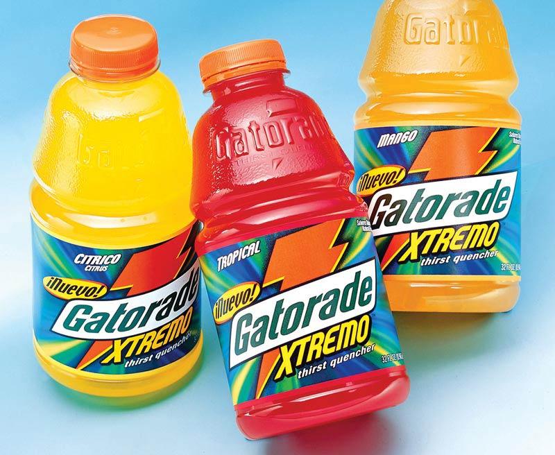 Gatorade Xtremo packaging design