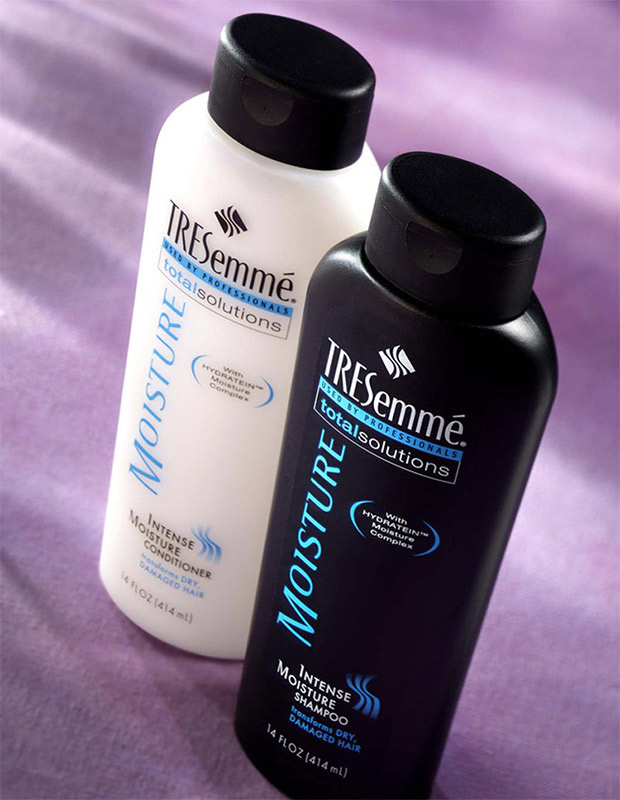 Copy of Tresemmé shampoo bottle design