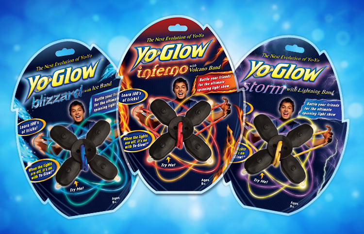 Yo-Glow packaging design for kids