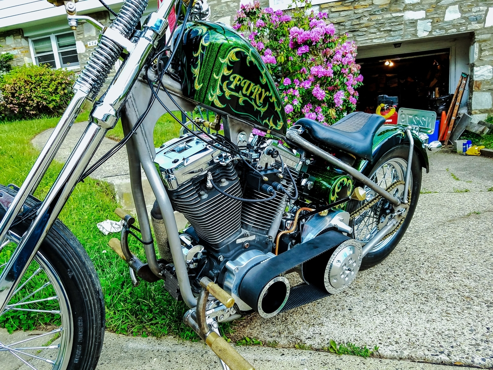 A Customer's bike with our jockey shift knob