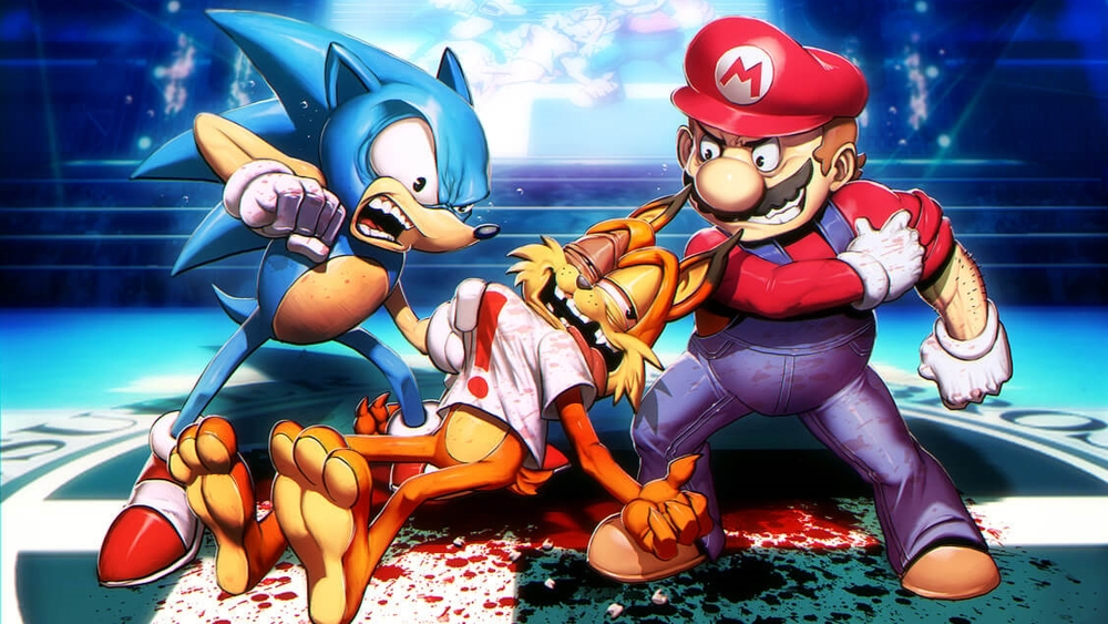 "(""Smash Bros - Bubsy"" by MrGenzoman.)"