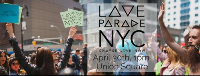 The LOVE Parade NYC