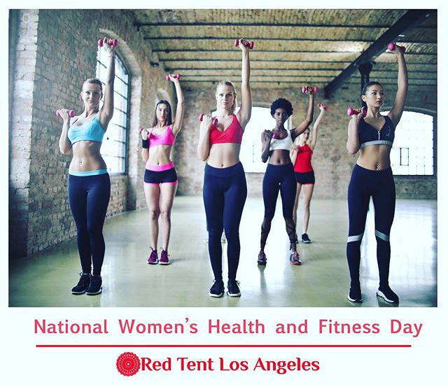 Celebrating WOMEN WEDNESDAY! Today we are celebrating National Women's Health and Fitness Day! Taking care of our bodies by making sure we fuel it with healthy natural foods, water for hydration and moving around to get our blood circulating and our heart pumping is so very important. A 3o minutes walk a day can improve your heart health. Isn't that amazing? #fitness #health #wombwellness #eatright #healthybody #redtentlosangeles #celebratingwomen #celebratingwomenwednesday #nationalwomenshealthandfitnessday  #thanks  #dreamstimecom for the photo! #wednesdaymotivation #wednesdaywisdom #love #follow #thankful #gretahasselgracelmft  Red Tent Los Angeles is brought to you by @gretahasselgrace.lmft