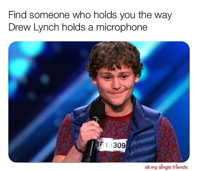 "We could NOT be more excited to have AMSF and @agt alum @thedrewlynch back this Thursday! ""Get tickets"" right on our profile! Use code: RAIN for $5 tix. ☔️ #mancrushmonday #mcm . . . #singles #dating #comedy #love #relationships #standup #datingapp #hookup #fling #relationships #comedy #comedians #lacomedy #losangelescomedy"