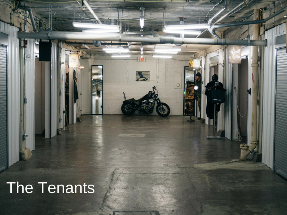 Vacancy Hall Tenants