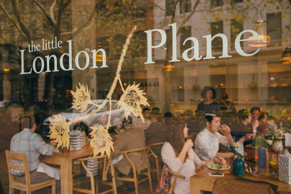 The Little London Plane in Pioneer Square, Seattle.