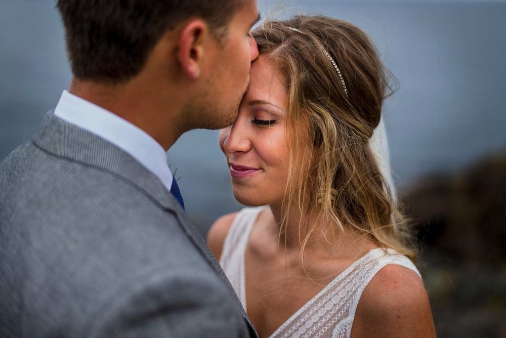 San Juan Island Wedding Portrait by Brandon Patoc Photography