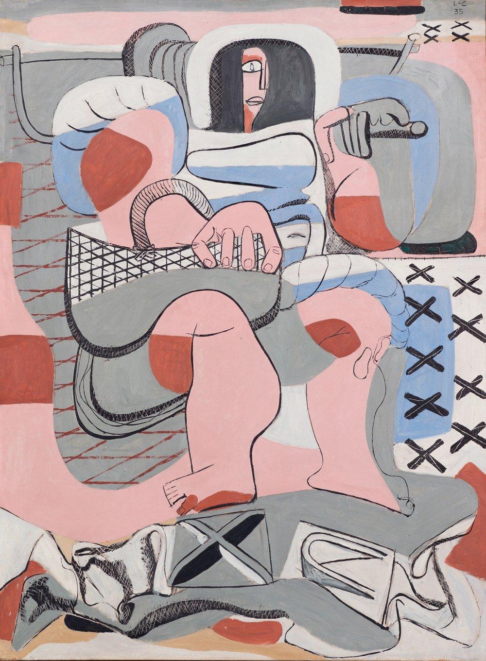 Le Corbusier, La Pêcheuse d'huitres/ Østersfiskerinnen, 1935.  The Foundation Le Corbusier © FLCADGAP