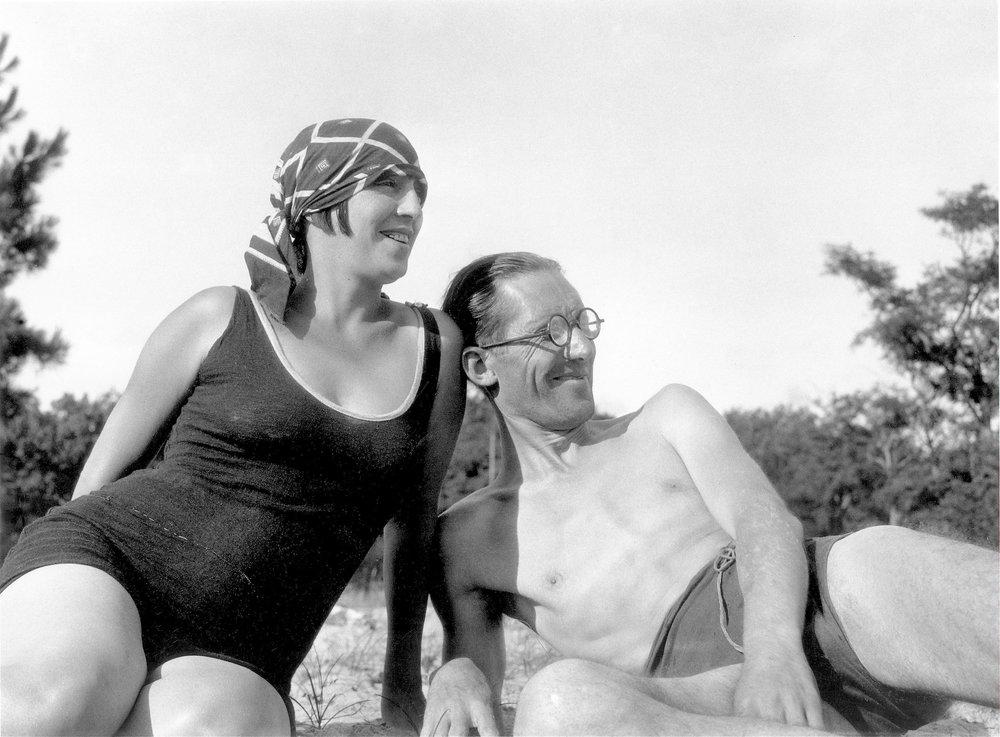 Le Corbusier og Yvonne Gallis  The Foundation Le Corbusier © FLCADGAP