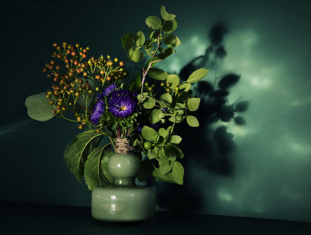 Vase fra Marimekko.