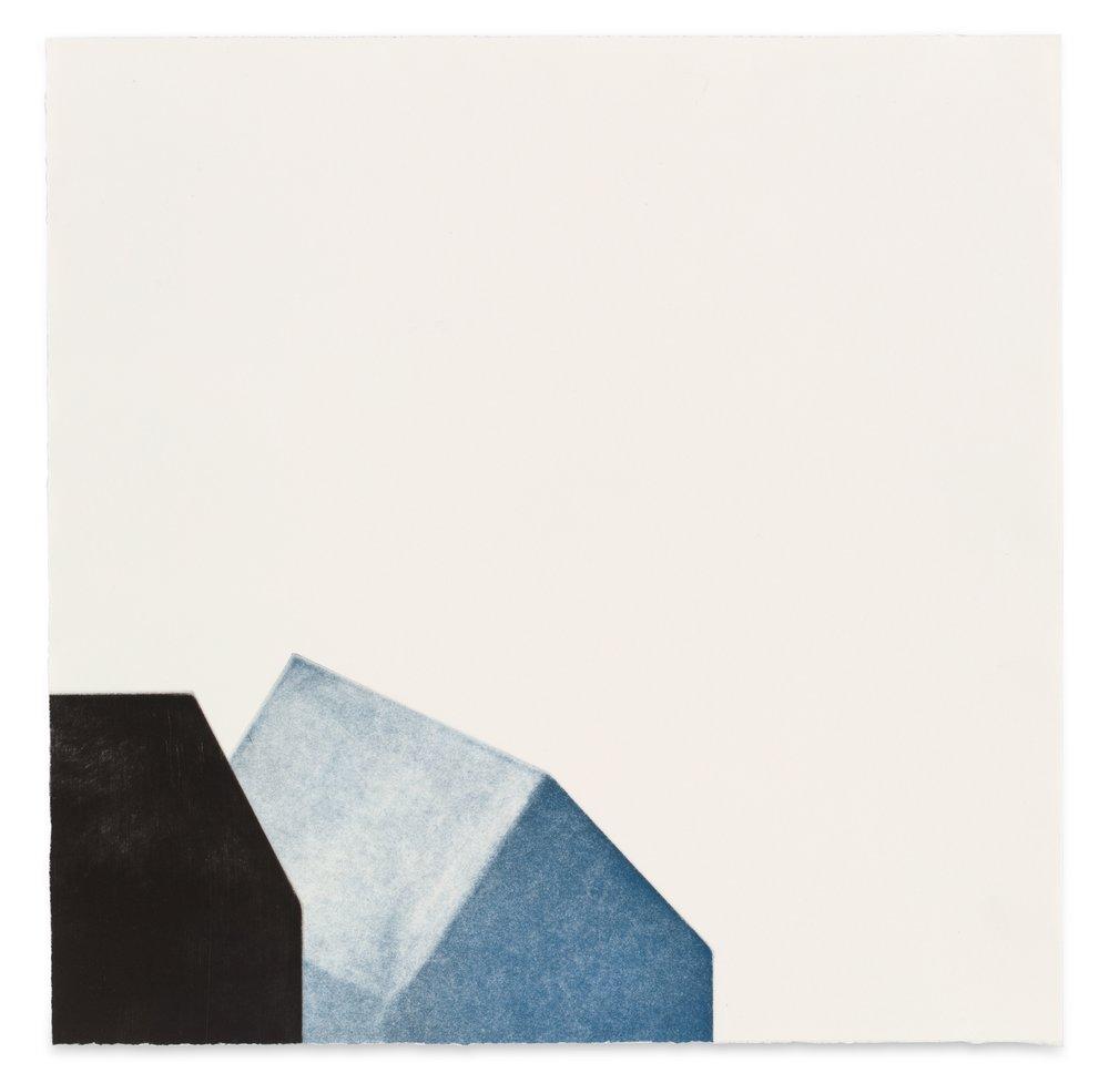 Come here, multi-plate aquatint, 37.5 x 37.5cm, 2017