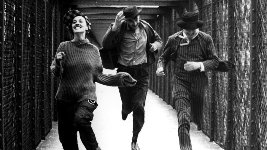 Jules et Jim (1962, Francois Truffaut) image courtesy of Curzon Cinemas